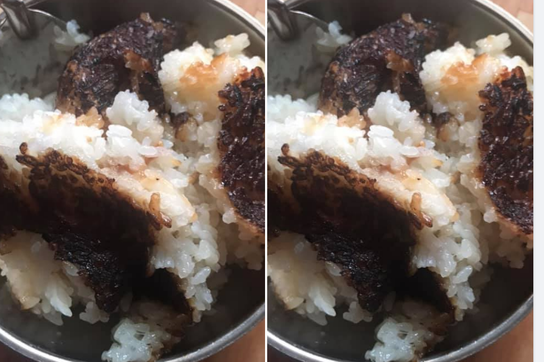 Cô giáo lên mạng kêu cứu và bữa cơm cháy đen ở trường mầm non vùng lũ