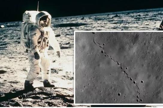 """Bí ẩn những """"dấu chân"""" kỳ lạ trên Mặt trăng"""