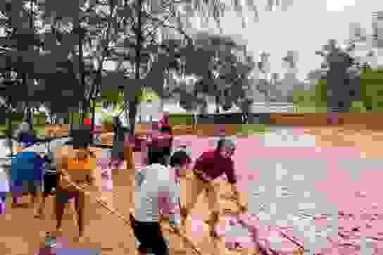 Quảng Bình: Lũ rút, trường học ngổn ngang, bùn đất phủ dày