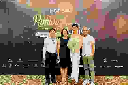 Võ Hoàng Yến, H'hen Niê trình diễn tuần lễ thời trang kép của Xuân Lan