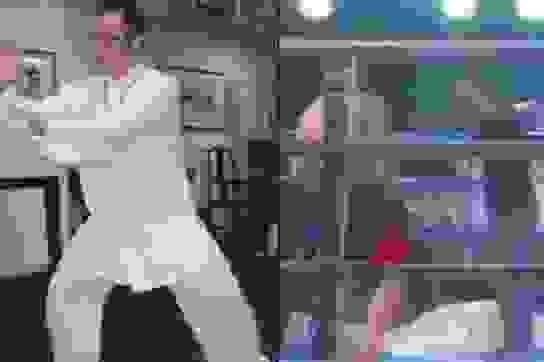 """Thách đấu võ sĩ MMA, cao thủ """"võ truyền điện"""" Trung Quốc bị đấm bất tỉnh"""