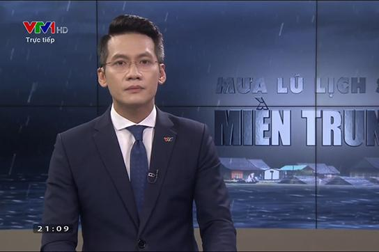 BTV Tuấn Dương trải lòng chuyện nén khóc khi dẫn về mưa lũ miền Trung