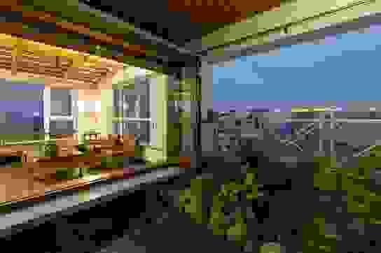 Căn chung cư ở Hà Nội ngập cây xanh như nhà vườn nghỉ dưỡng trên không