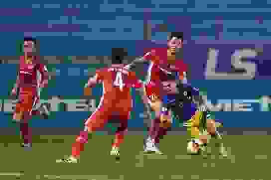 CLB Viettel bất phân thắng bại với CLB Hà Nội