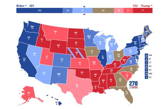 Dự đoán kết quả cặp đấu Trump - Biden