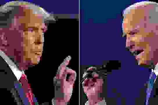 Ông Trump giành 213 phiếu đại cử tri, ông Biden giành 238 phiếu