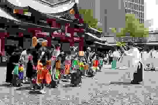 3 lễ hội độc đáo lớn nhất thời Edo tại Nhật Bản