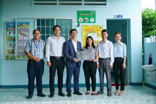 Tập đoàn LS nâng cấp phòng y tế cho 17 trường tiểu học