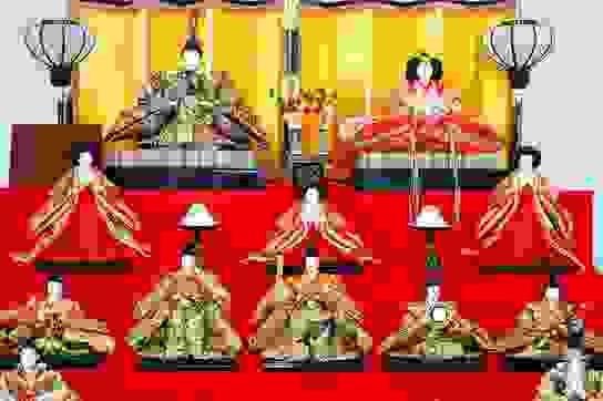 Búp bê gửi gắm ước vọng cho các bé gái của người Nhật Bản