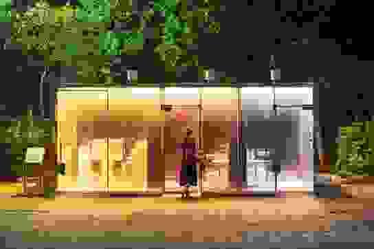 Kiến trúc nhà vệ sinh công cộng đặc biệt tại Nhật Bản