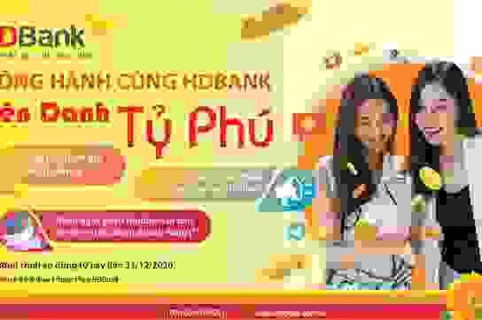 Cơ hội nhận quà thưởng lên đến 7,5 tỷ đồng khi đồng hành cùng HDBank