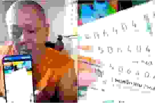 Mua xổ số làm phúc, nhà sư Thái Lan trúng 18 triệu Baht