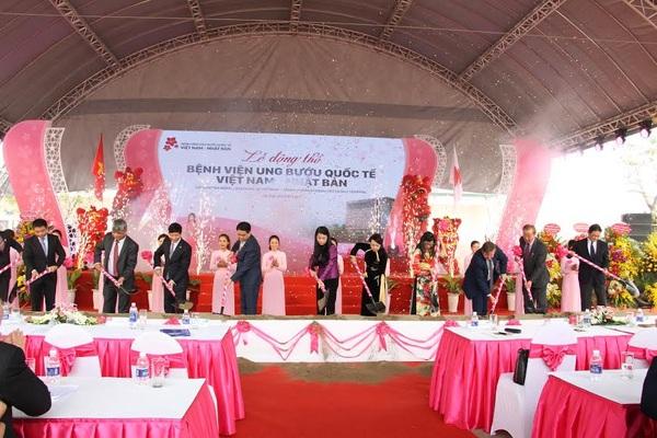 Hà Nội: Bệnh viện ung bướu chuẩn quốc tế chính thức động thổ