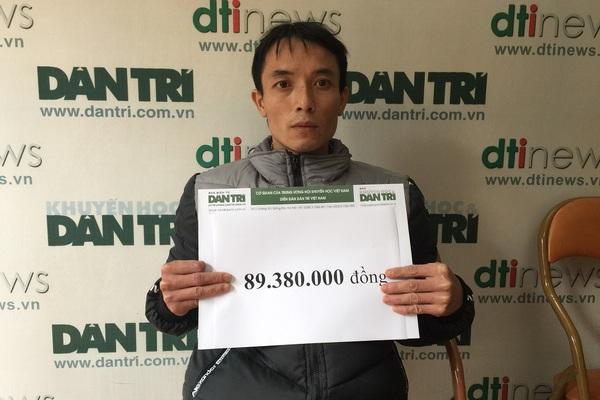 Gần 90 triệu đồng đến với cô bé Hồng Phương bị ung thư xương