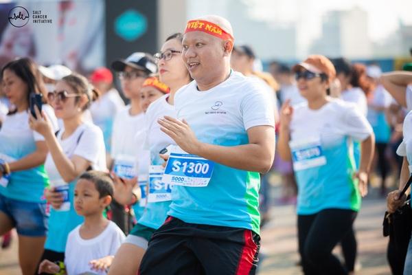 Thử thách đi bộ ảo 5.000 bước chân vì bệnh nhân ung thư