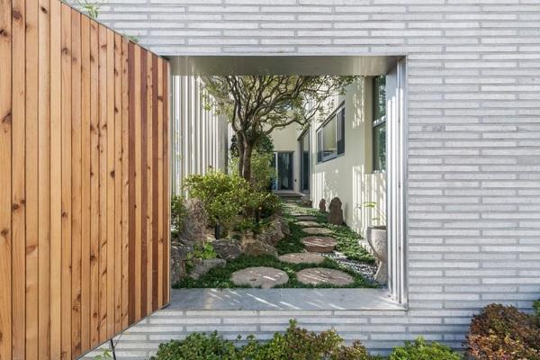 Khu vườn bí mật bên trong biệt thự thép độc đáo ở Hàn Quốc