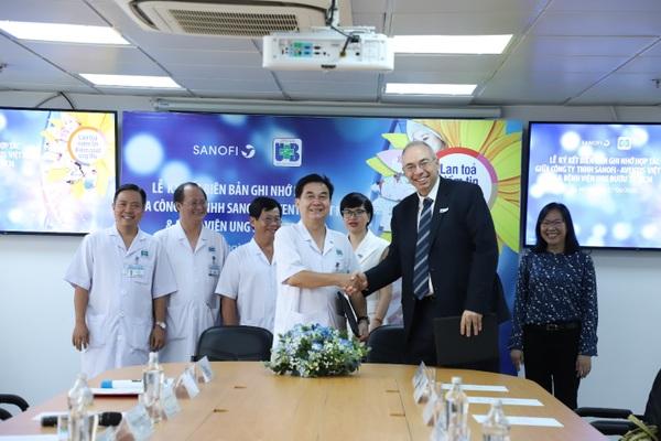 Hợp tác triển khai một số hoạt động trong lĩnh vực điều trị ung thư năm 2020