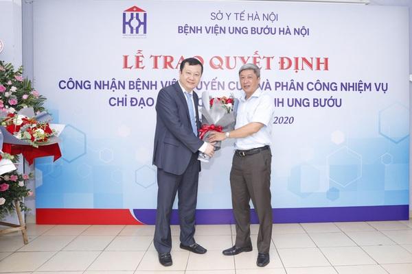 Bệnh viện Ung Bướu Hà Nội được công nhận bệnh viện tuyến cuối