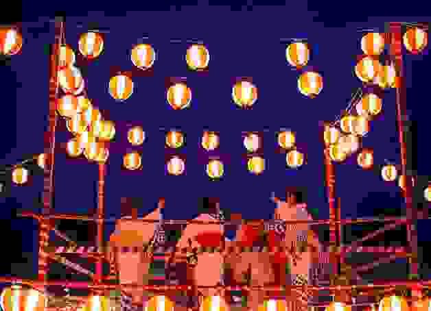 Những điệu múa truyền thống trong các lễ hội Nhật bản