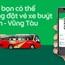 Grab thử nghiệm dịch vụ đặt vé xe buýt