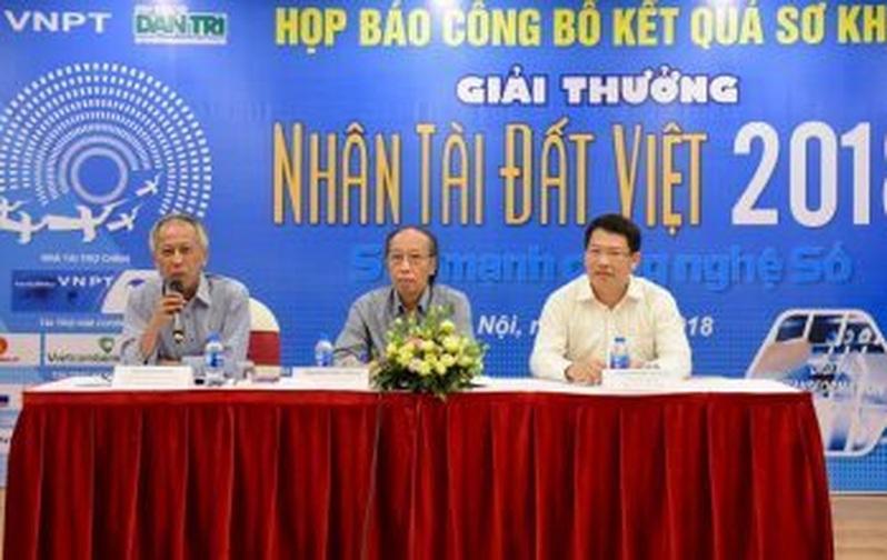 Chùm ảnh Họp báo công bố kết quả Sơ khảo lĩnh vực CNTT Giải thưởng Nhân tài Đất Việt 2018