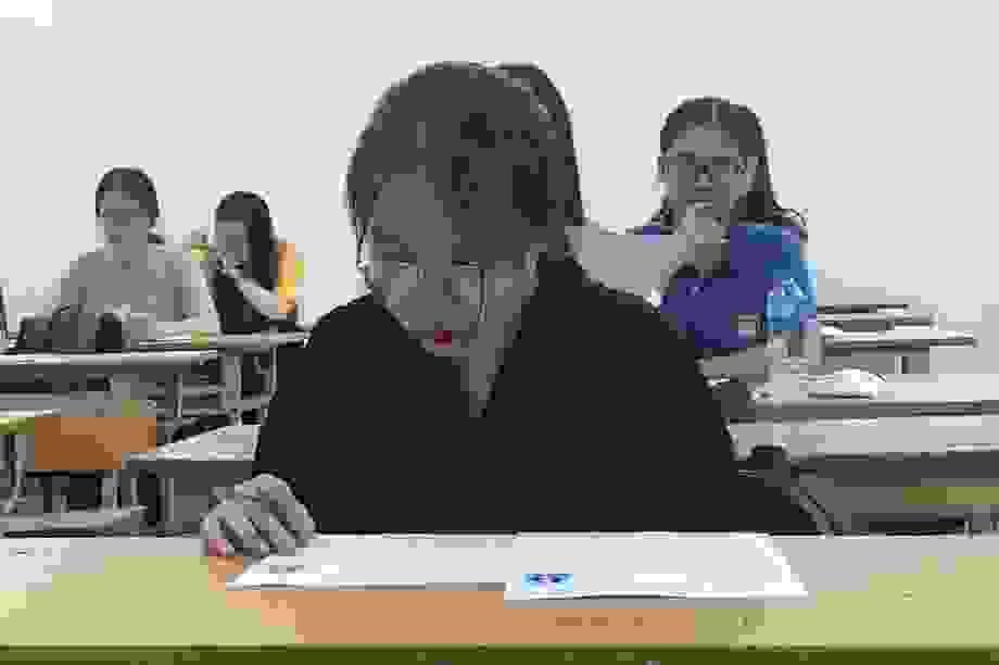 Đề thi tham khảo môn Toán tốt nghiệp THPT có câu hỏi phân loại cao