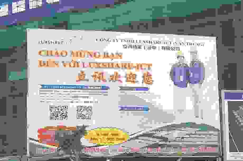 """Bắc Giang ra """"tối hậu thư"""" vụ hàng trăm người Trung Quốc ở """"chui"""" tại KCN!"""