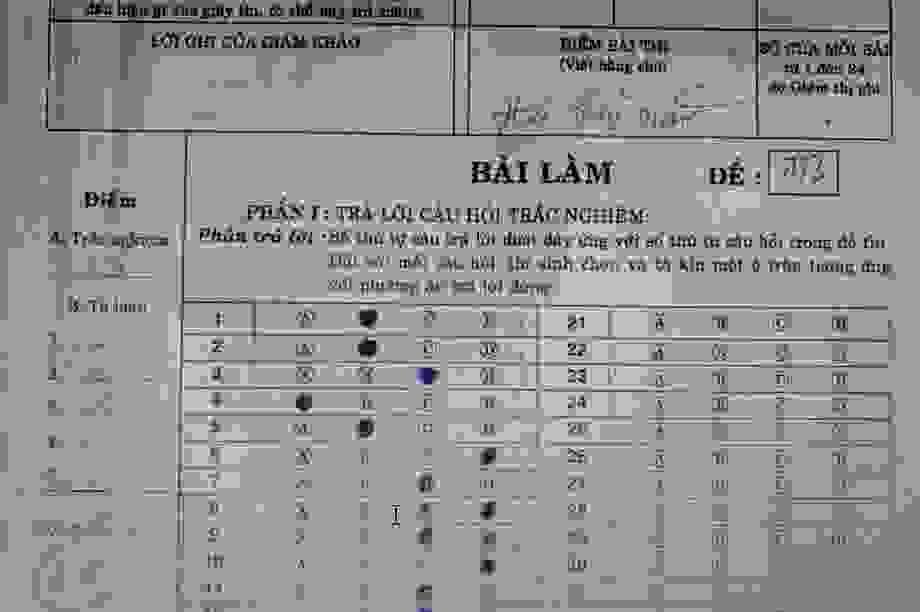 Vĩnh Long: 166 bài thi môn Địa lý lớp 7 được nâng điểm cao bất thường