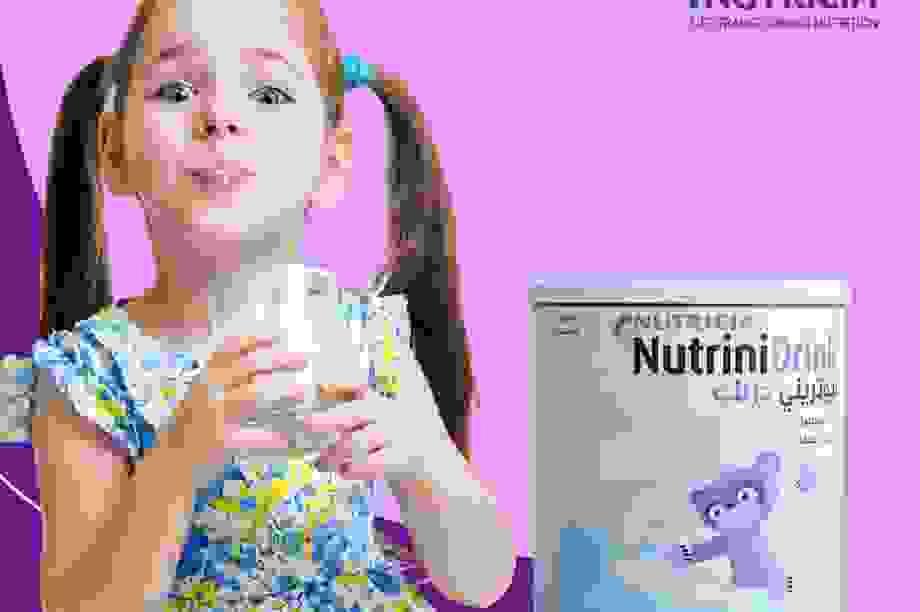 NutriniDrink - Giải pháp dinh dưỡng mới cho trẻ biếng ăn, thấp còi