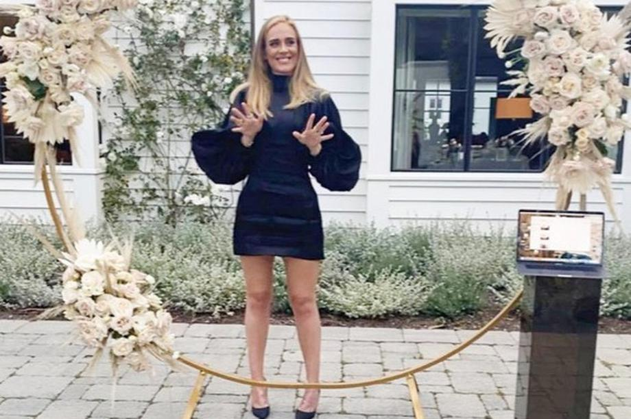 Giảm 45kg, Adele sở hữu thân hình nóng bỏng