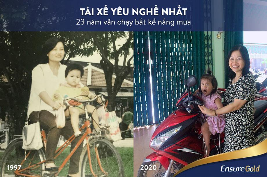 Bức hình quay ngược thời gian: Trào lưu tri ân người mẹ tài năng của chúng ta