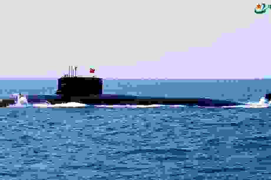 Hé lộ những đường hầm bí mật của tàu ngầm Trung Quốc