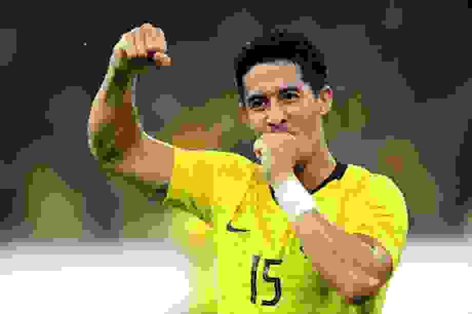 Cầu thủ nhập tịch Malaysia tự tin thách đấu tuyển Việt Nam
