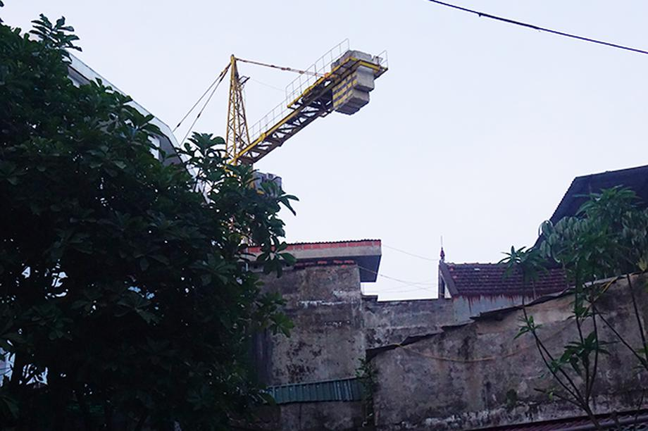 Dự án 20 tầng thi công, người dân có nhà không dám ở tại Nghệ An