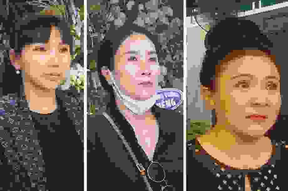 Nghệ sĩ Thanh Ngân, Vân Khánh... bật khóc khi đến viếng Vũ Đức Sao Biển