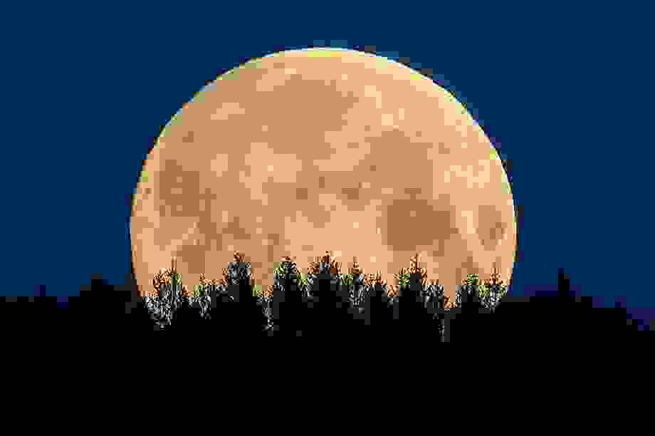 Ngất ngây trước vẻ đẹp của siêu trăng trên khắp thế giới