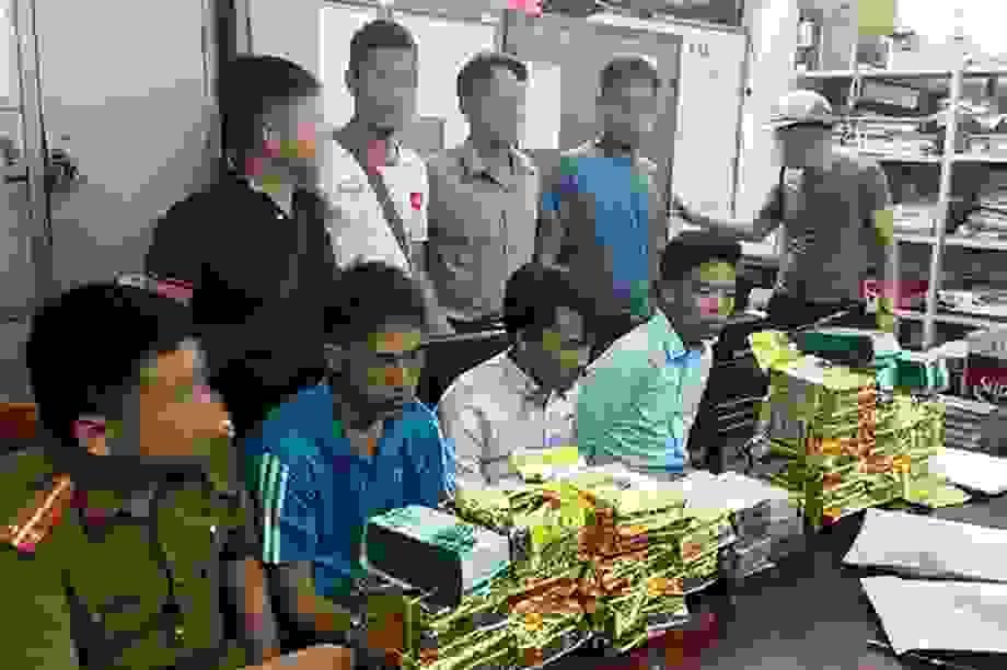 Từ Bắc Kạn vào Nghệ An vận chuyển thuê gần 30 kg ma túy