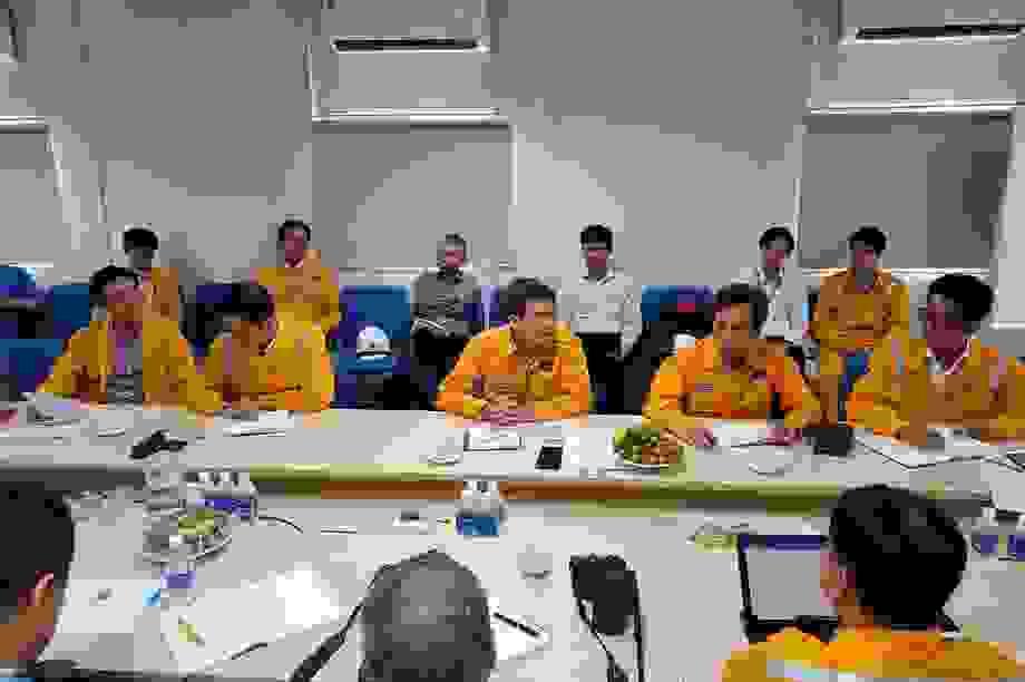 Tổng Giám đốc PV GAS kiểm tra và triển khai công tác trên công trường dự án trọng điểm