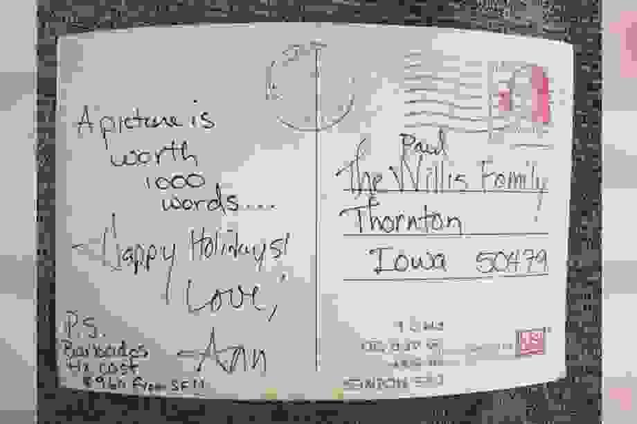 Hy hữu bưu điện Mỹ mất tới… 32 năm để gửi bưu thiếp