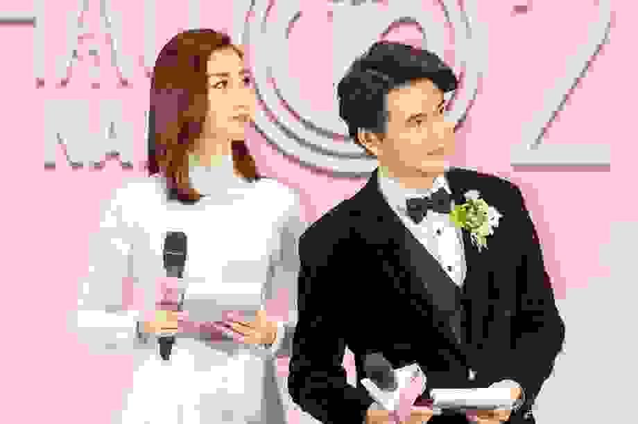 Vũ Mạnh Cường nói gì khi làm MC cùng Hoa hậu Đỗ Mỹ Linh?