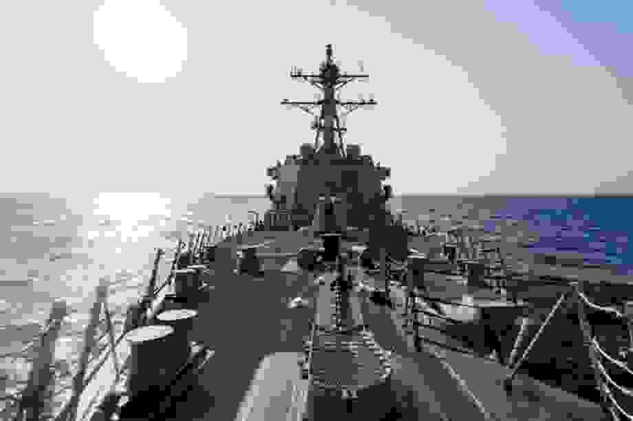Mỹ điều chiến hạm qua eo biển Đài Loan