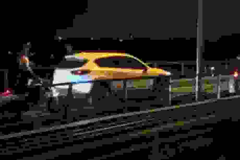 Hà Nội: Xử lý tài xế xe Mazda CX-5 đi trên cầu Long Biên