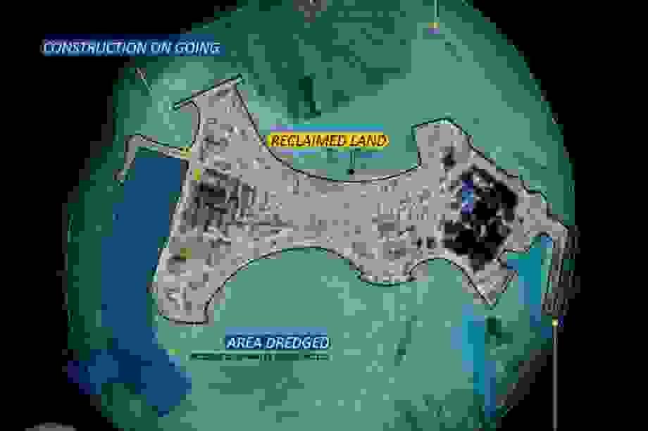 Ấn Độ lo Trung Quốc đang xây đảo nhân tạo ở Ấn Độ Dương