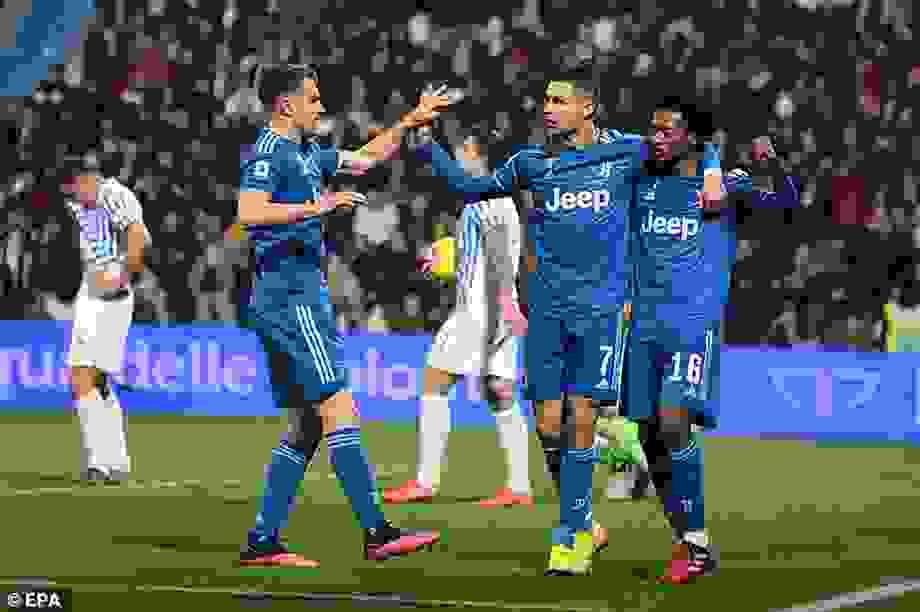 Ấn định ngày C.Ronaldo trở lại thi đấu tại Serie A