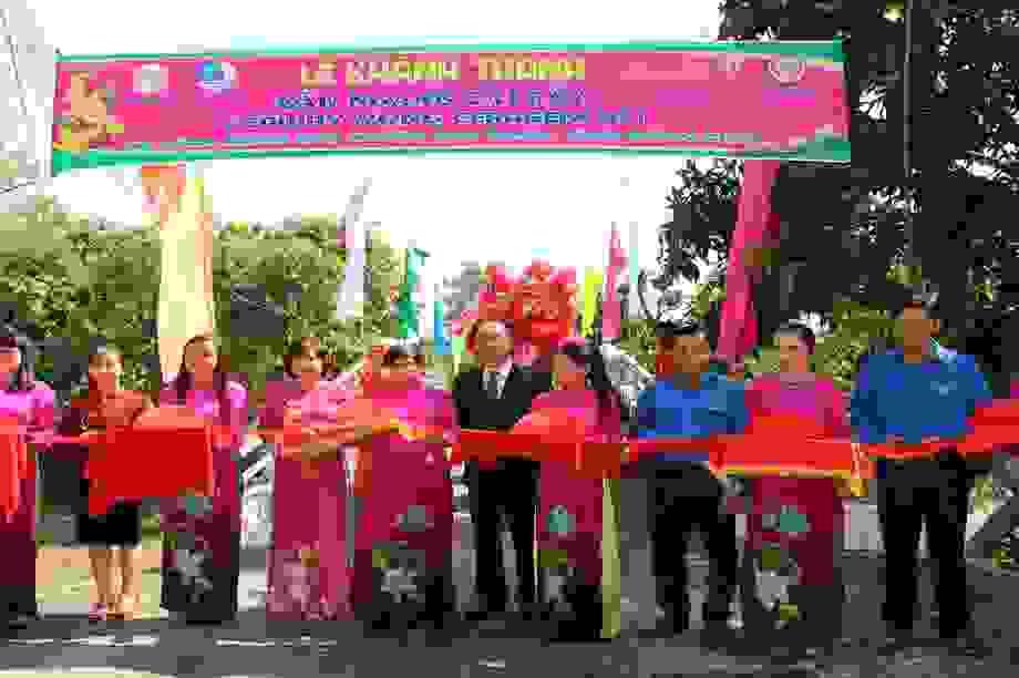 Công ty Ceragem khánh thành cây cầu mang tên Hy Vọng tại Đồng Tháp