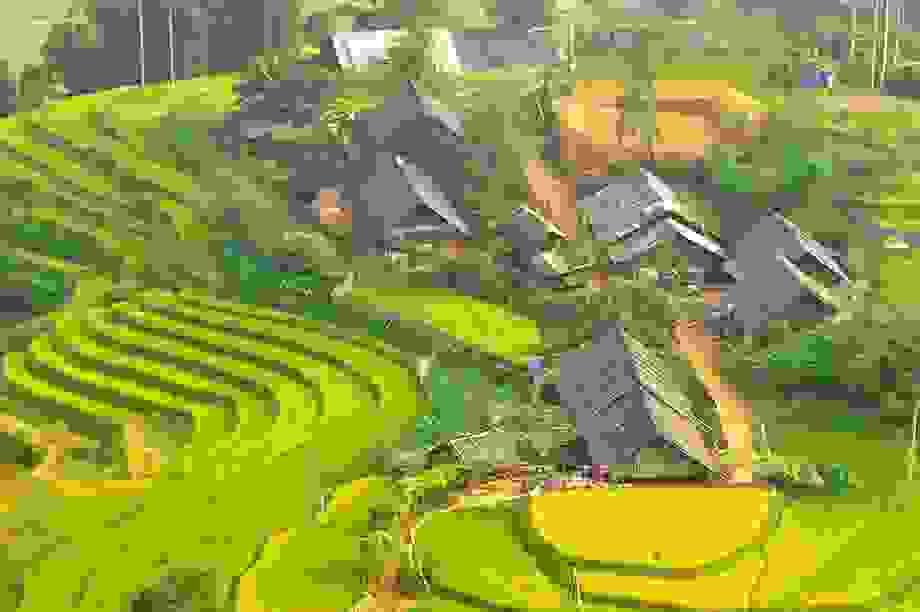 Những bản làng vùng cao đẹp như tranhvẽ