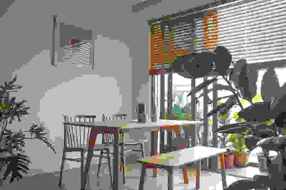 Ngôi nhà mang phong cách tối giản, bình yên giữa Sài Gòn chật chội