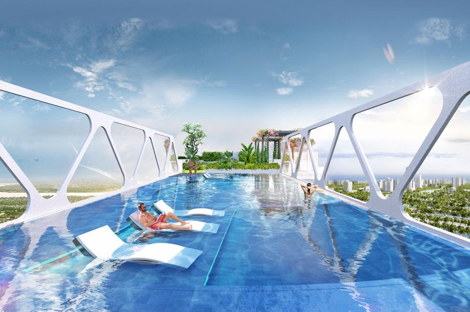 Triển khai loạt tiện ích chưa từng có ở Hà Nội tại tòa tháp cao nhất Ecopark