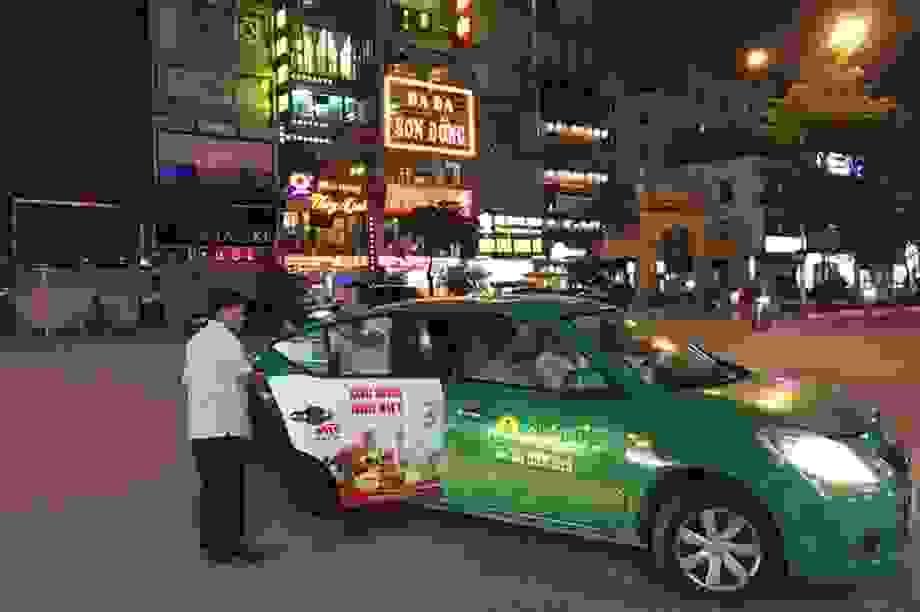Tài xế taxi kiếm 2 triệu đồng/đêm nhờ Nghị định 100