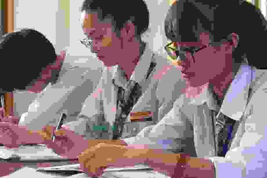 Chiều nay, ĐH Công nghệ GTVT tổ chức thi thử tốt nghiệp THPT môn Tiếng Anh
